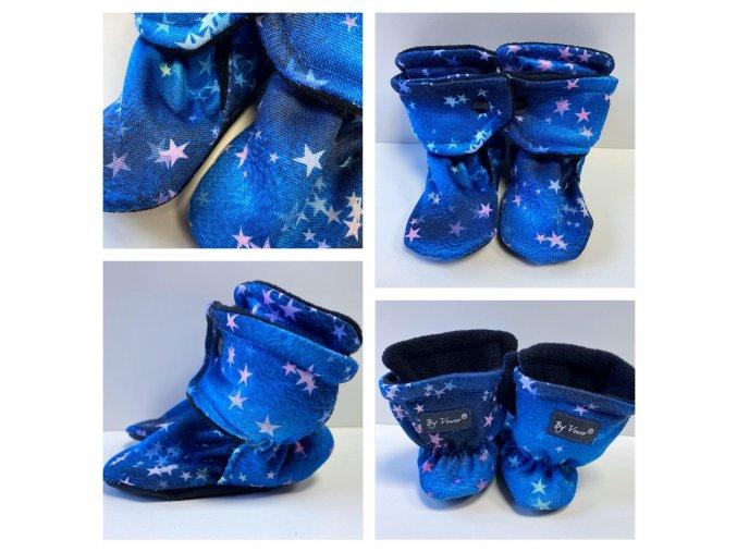 hvezdicky na modre