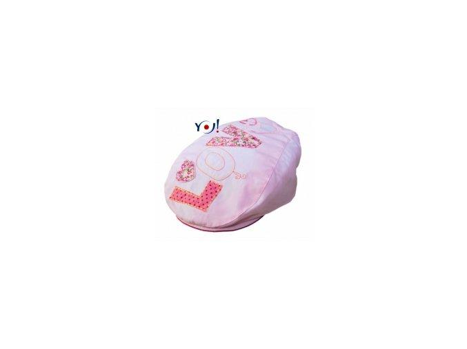 77618 117187 bavlnena bekovka ksiltovka yo love ruzova