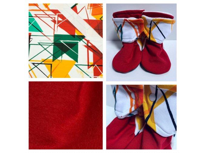 geometrie s cervenou