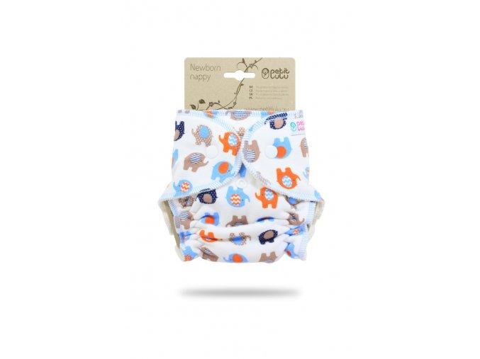 Sloníci (oranžová) – novorozenecká plenka