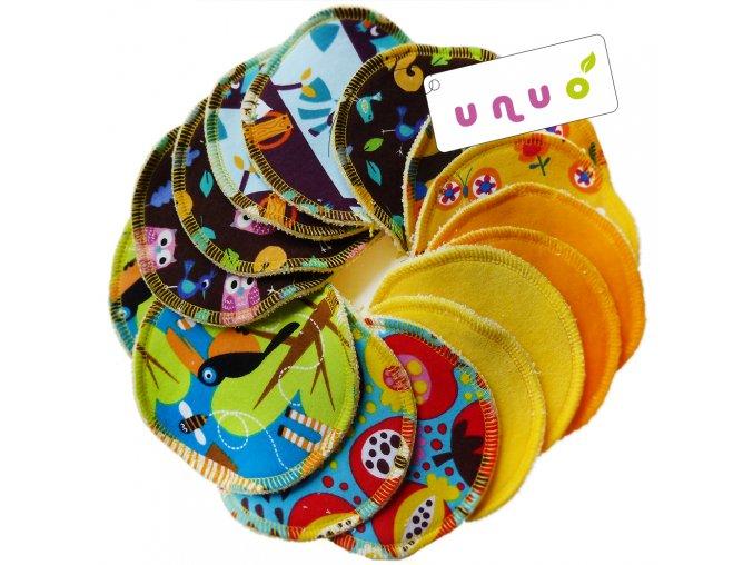 Prsní vložky pár, barevné