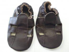 hnede sandalky1