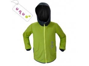 60654 3902 vyr 2734detska softshellova bunda zelena