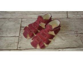 Ortoplus sandálky PALM G vínová