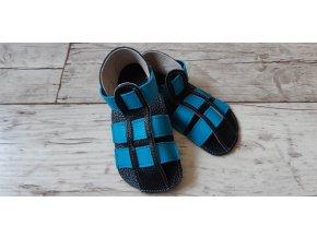 Nohatka sandálky ARA černo-tyrkysový