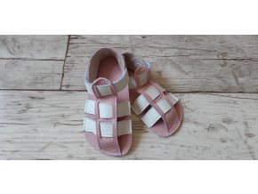 Nohatka sandálky ARA růžovo-bílý