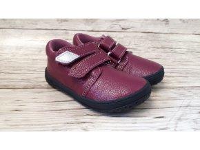 Dětské celoroční boty Jonap B1MV vínová NEW - suchý zip