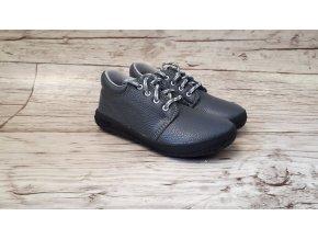 Dětské celoroční boty Jonap B1M šedá NEW - tkaničky