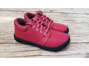 Dětské celoroční boty Jonap B1M růžová NEW - tkaničky