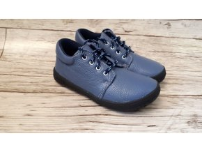Dětské celoroční boty Jonap B1M sv. modrá NEW - tkaničky