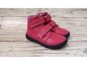 Dětské celoroční boty Jonap B2MV růžová NEW - suchý zip