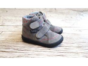 Dětská celoroční barefoot obuv Jonap B3 SV dívčí - S MEMBRÁNOU