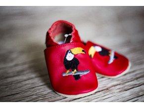 baBice barefoot capáčky - EM-033/ tukan