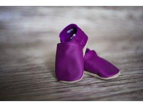 baBice barefoot capáčky - BA-054/ fialová