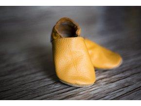 baBice barefoot capáčky - BA-139/ pastelový pomeranč