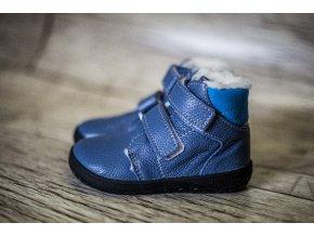 Zimní barefoot obuv Jonap B4 MV sv. modrá