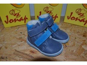 Zimní barefoot obuv Jonap B4 MV modrá