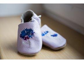 baBice barefoot capáčky - EM-042/ chrpa