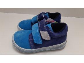 Celoroční barefoot obuv Jonap B1SV modrá tyrkys