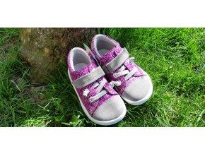 Celoroční barefoot obuv Jonap B12SV fialová SLIM