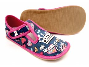Ef barefoot 395 Niebesky World Girl