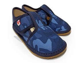 barefoot army blue