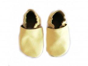 baBice barefoot capáčky - BA-138/ žlutá