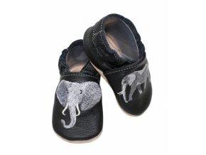 baBice barefoot capáčky - EM-027 / slon