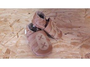 baBice barefoot capáčky - BA-091 / nugát