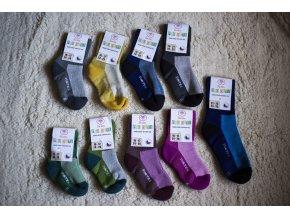 Surtex volný lem pro děti nové barvy (min. 80% merinové vlny) 12-13 (vel. 18-19)