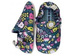 Wildflowers Navy Mini Shoes AW20 01 1024x1024