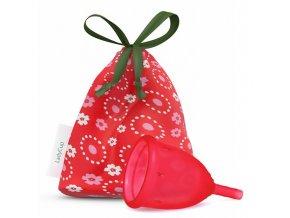 Menstruační kalíšek LadyCup S divoká třešeň