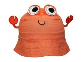 78075 118206 bavlneny kloboucek yo craw oranzovy