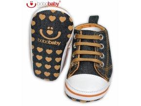 79968 125011 capacky boticky bobo baby tenisky jeans hvezdicka