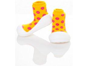 Polka Dot Yellow S