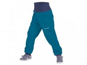 Unuo softshellové kalhoty s fleecem petrolejové 74/80 (9 m.)