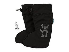 černý softshell medvídek