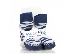 baleriny Mocc ons zebra1