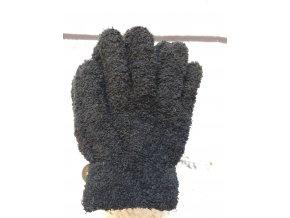 prstovy rukavice cerny