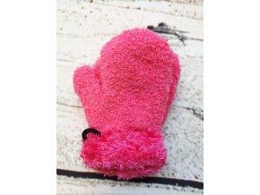 ruzove rukavice s koziskem