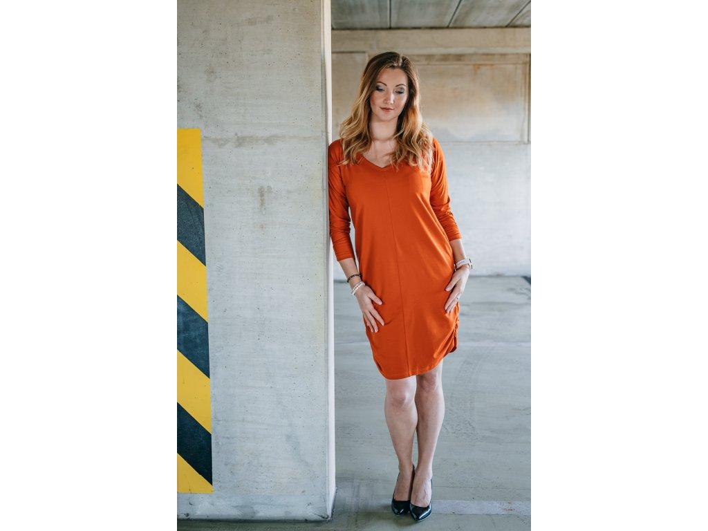 Sára - oranžové