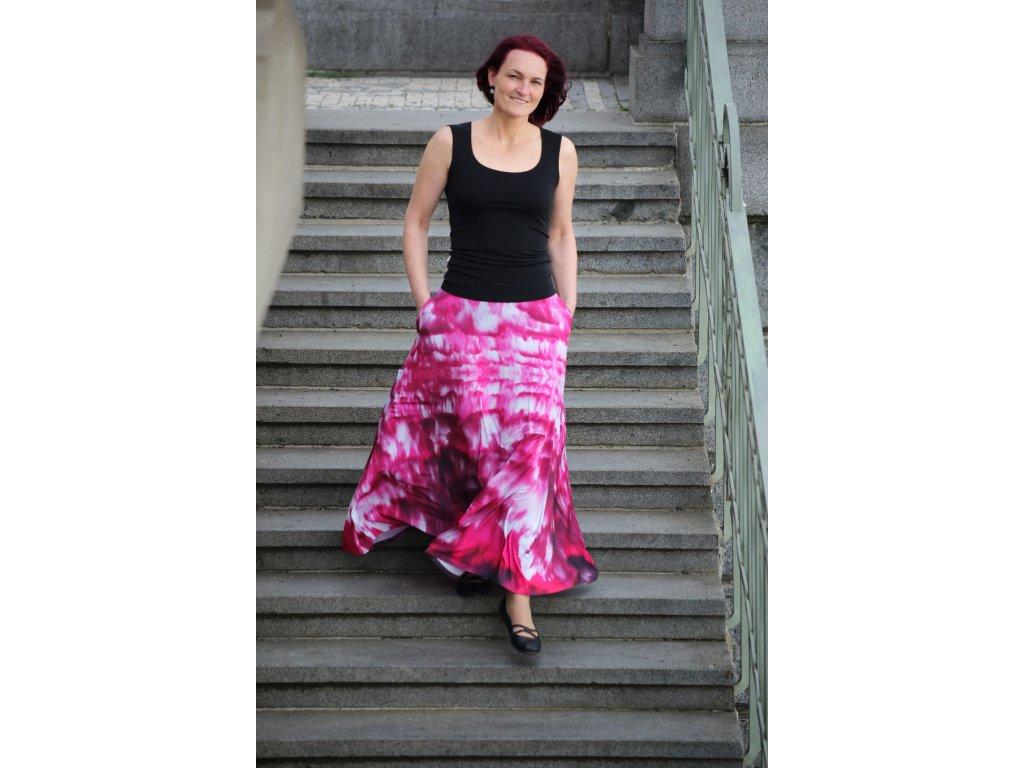 Zannia 0689 ružové mraky sukne 2
