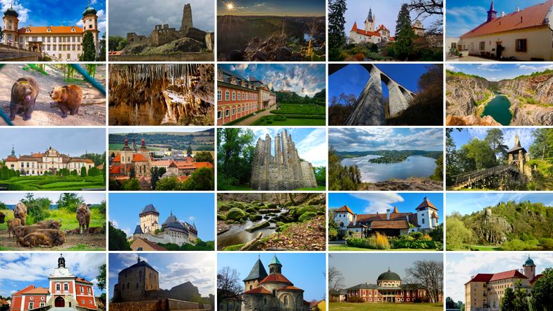 30 tipů, kam na výlet v okolí Prahy. Autem do 30 minut