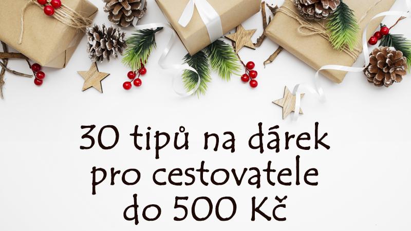 30 tipů na dárek pro cestovatele do 500 Kč
