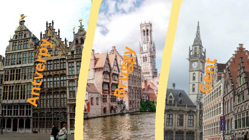 6 dní, 6 měst Belgie a Nizozemska za hubičku (část 2/2)