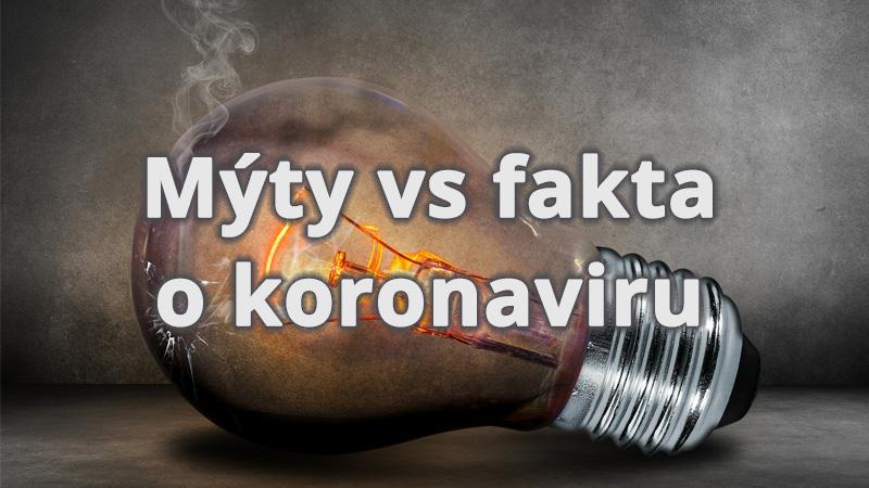 Mýty vs fakta kolem koronaviru (COVID-19)