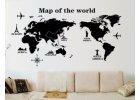 Nástěnné mapy, samolepky na zeď