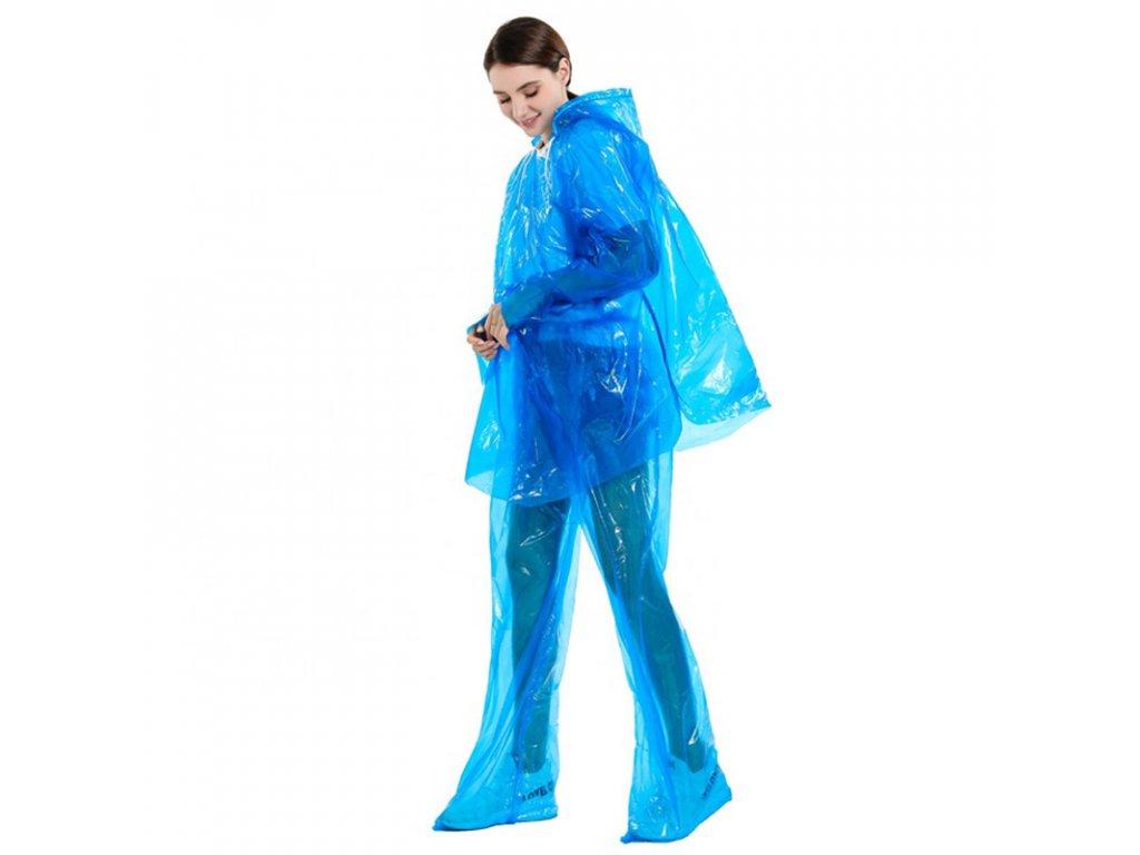plastenka celotelova ponco modra 5