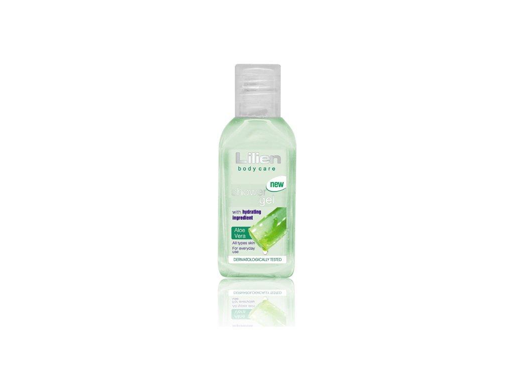 sprchovy gel aloe very lilien cestovni baleni 50 ml