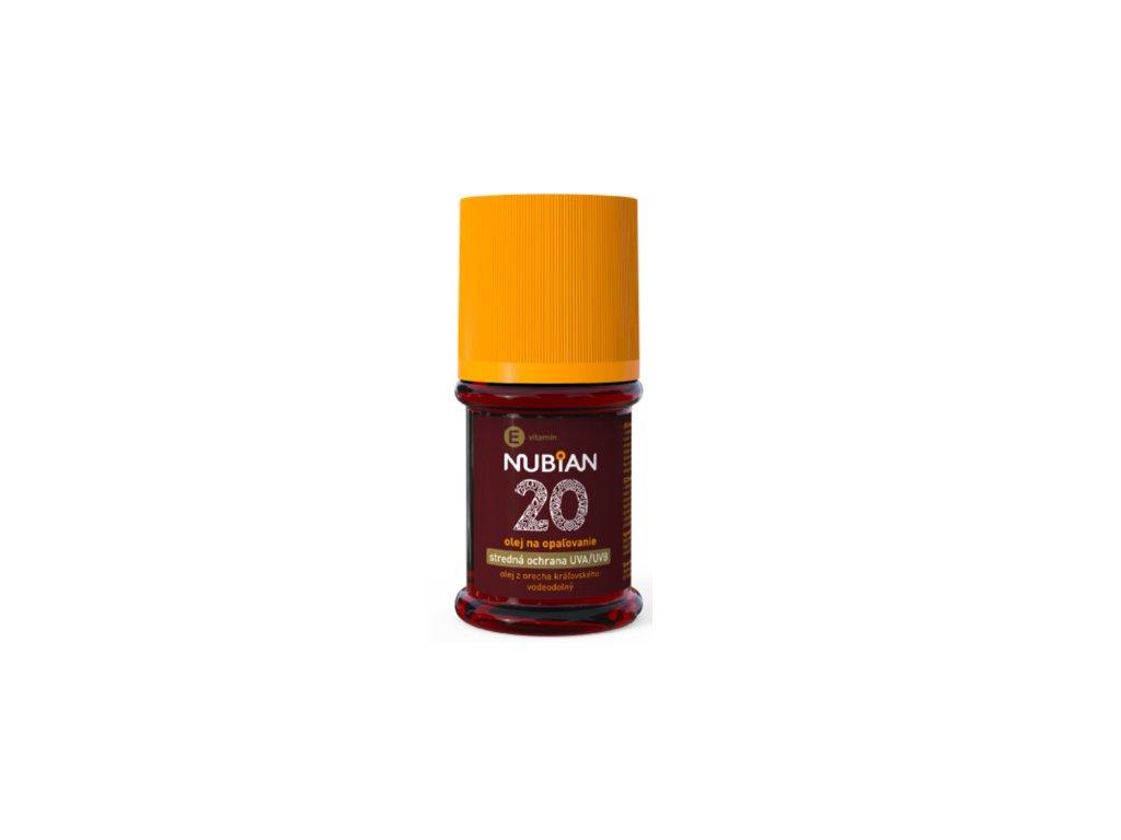 Nubian F 20, olej na opalování (60 ml)